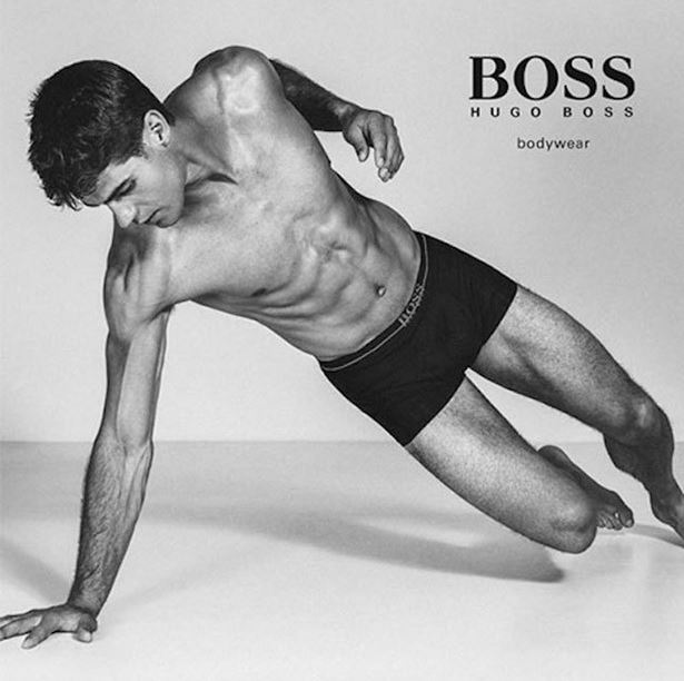 Chad White for BOSS by Hugo Boss Underwear Campaign