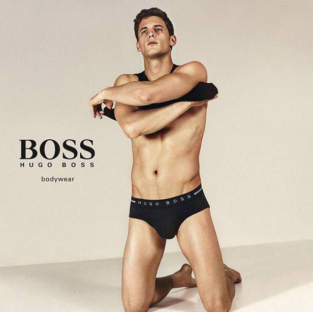 Garrett Neff for BOSS by Hugo Boss Underwear Campaign