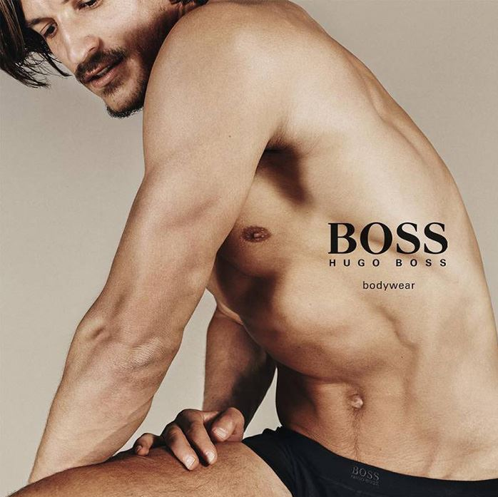 Jarrod Scott for BOSS by Hugo Boss Underwear Campaign