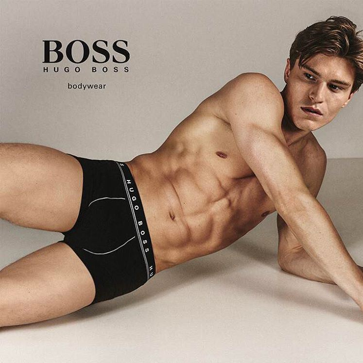 BOSS by Hugo Boss Enlists Top Models for Underwear Campaign