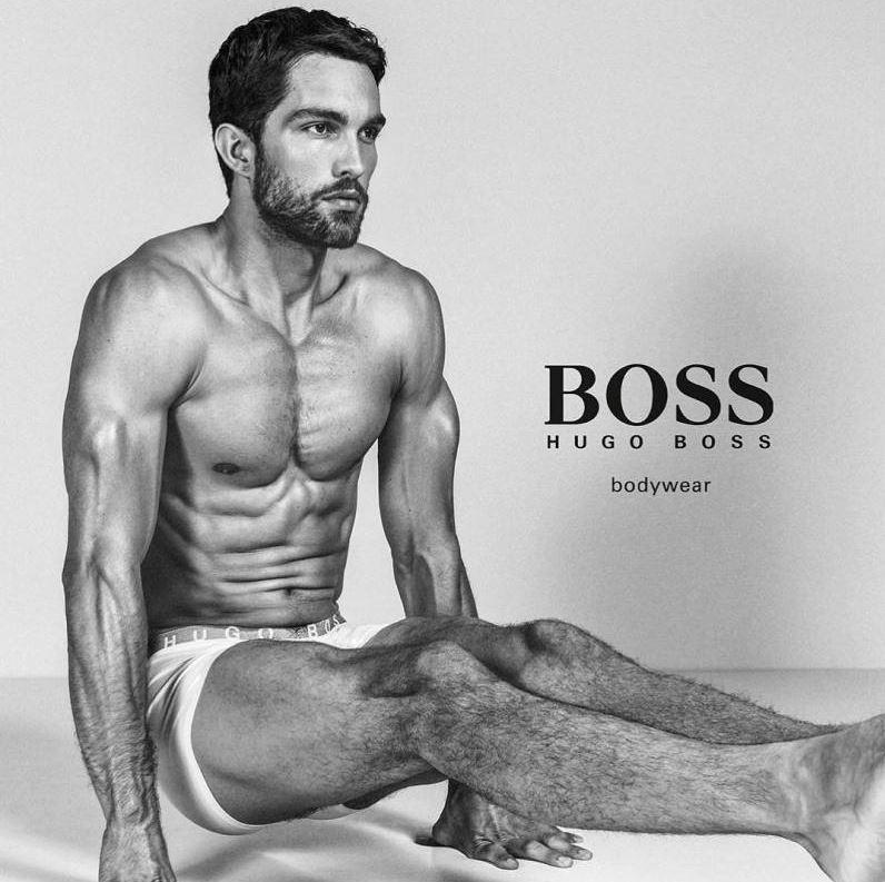 Tobias Sorensen for BOSS by Hugo Boss Underwear Campaign