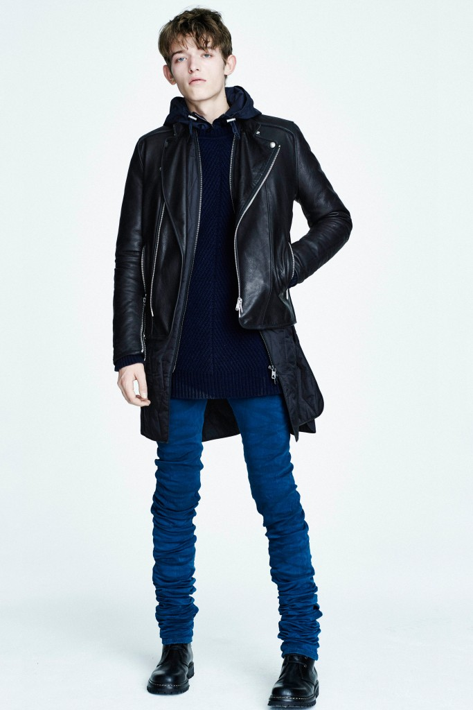 Diesel Black Gold Goes Skinny for Pre-Fall