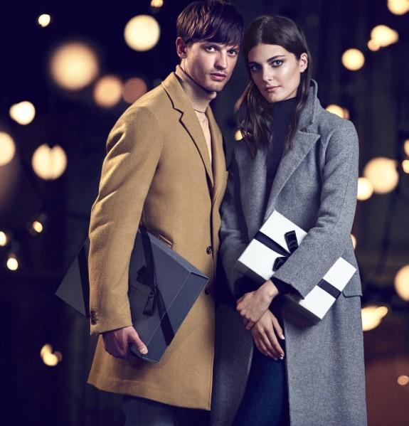 Gant Holiday 2015 Campaign Starring Eddie Klint
