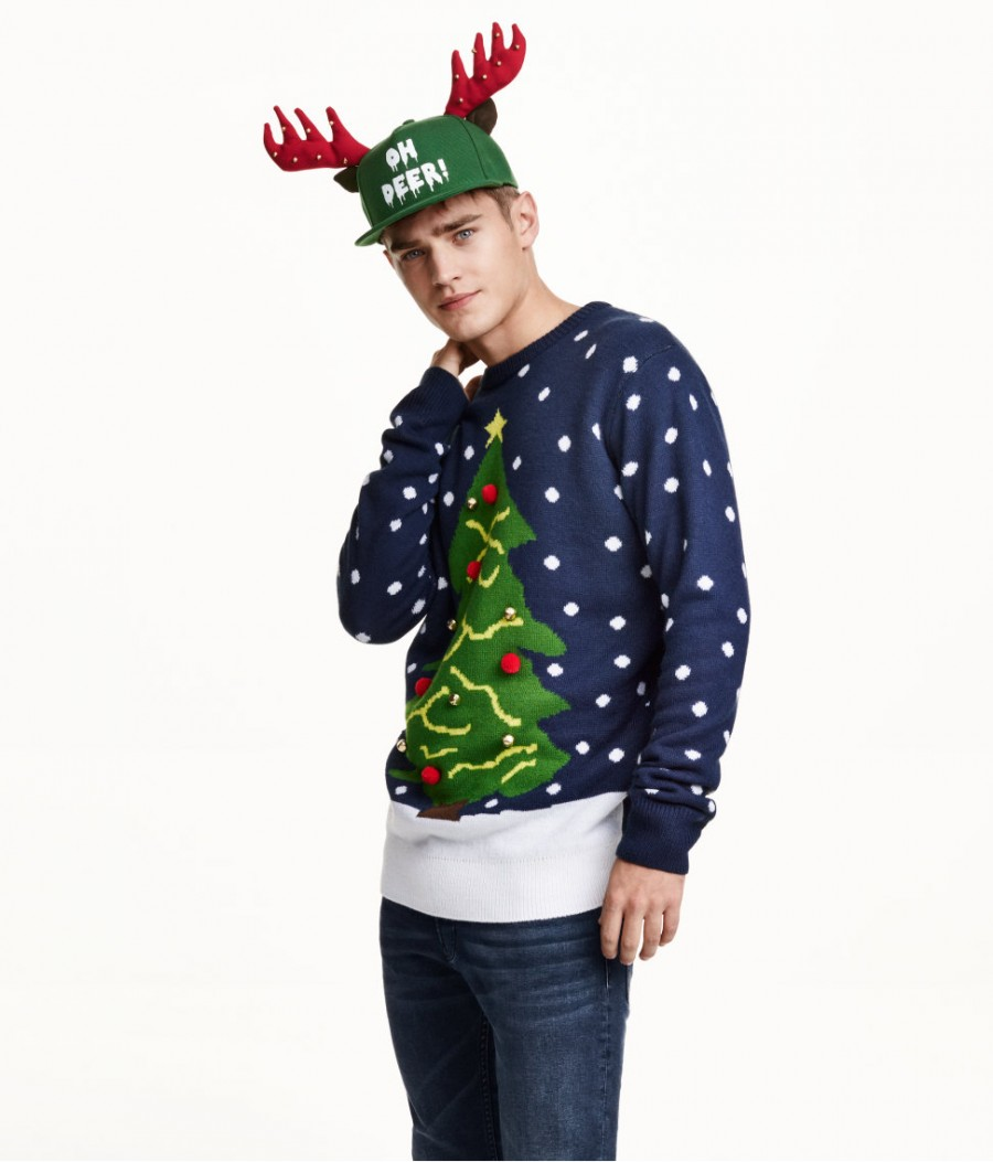 Make Christmas Tree Sweater