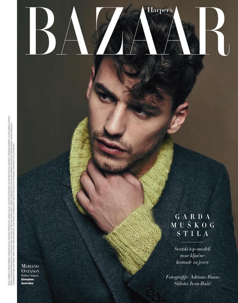 Mariano Ontañon photographed for Harper's Bazaar Serbia