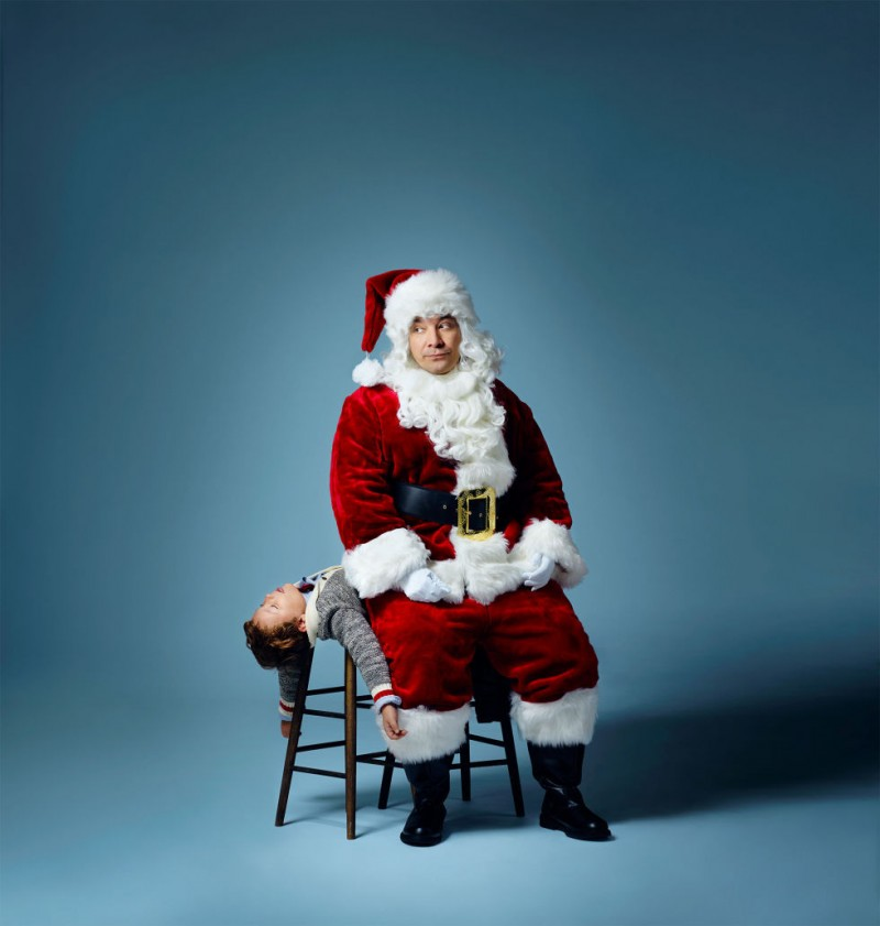 Jimmy Fallon is Santa Claus for Esquire.