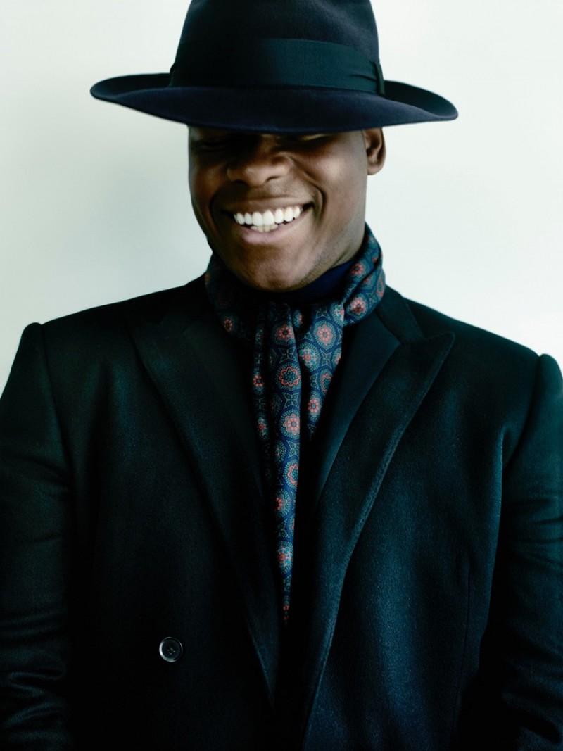 John Boyega is all smiles for British GQ.