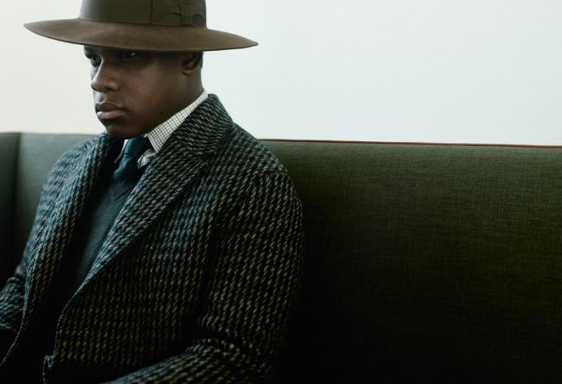 John Boyega is photographed by Bryan Adams for British GQ.