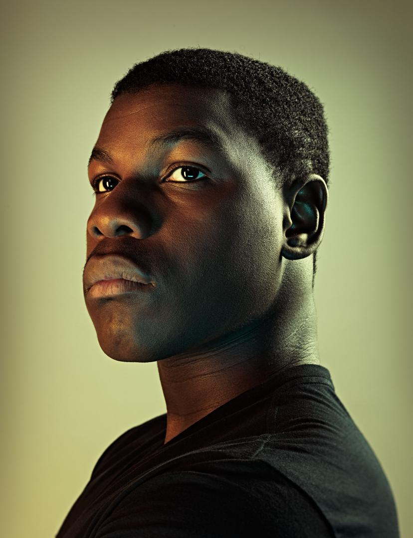 John Boyega photographed for TIME magazine.