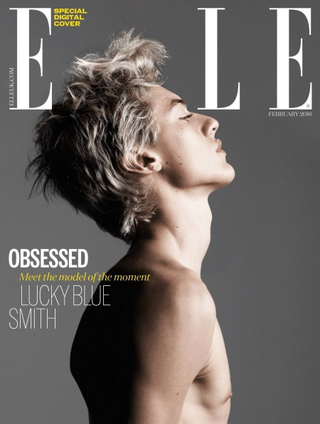 Lucky Blue Smith Joins Kylie Jenner for Elle UK + Ditches the Blond Hair