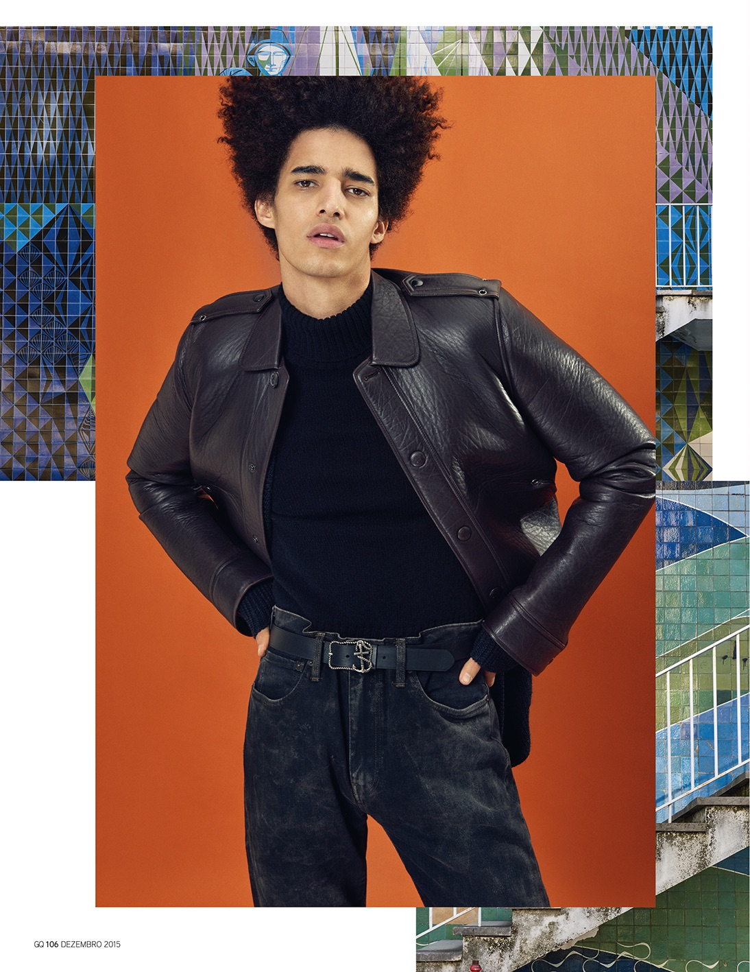 GQ Portugal: Luis Borges Rocks 1970s Fashion Trend