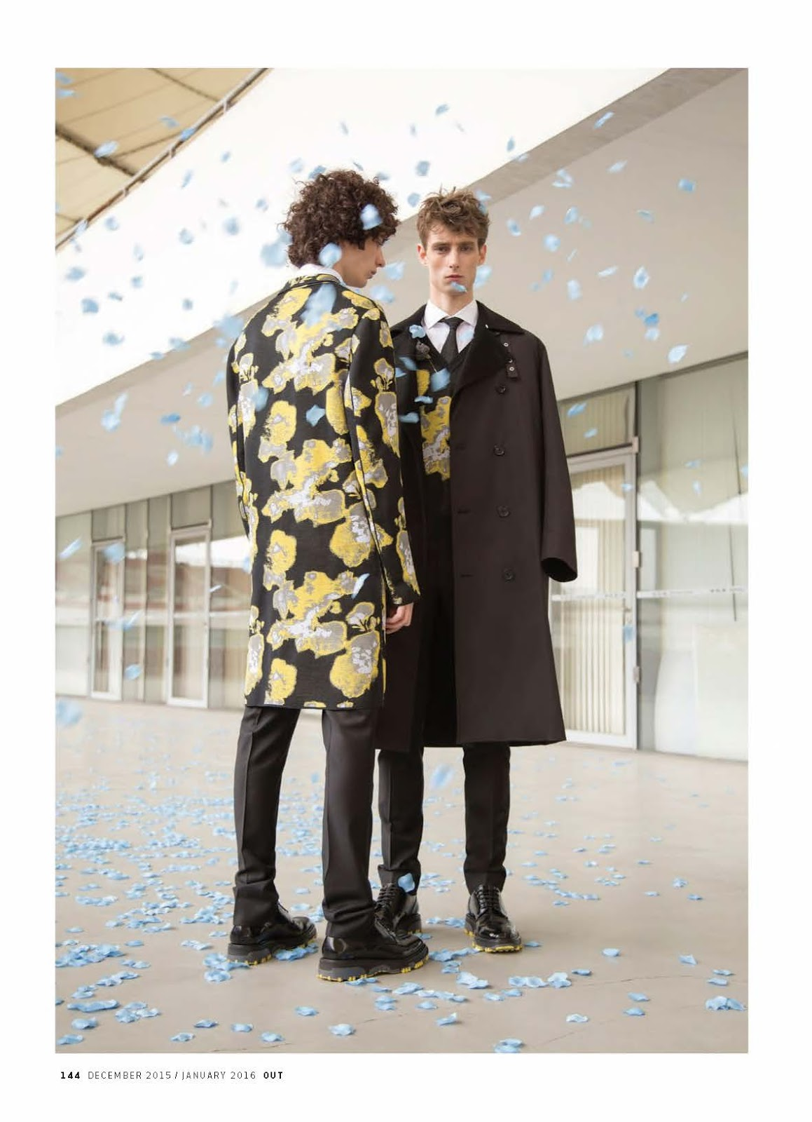 Dior Homme Fall/Winter 2015: OUT Travels to China