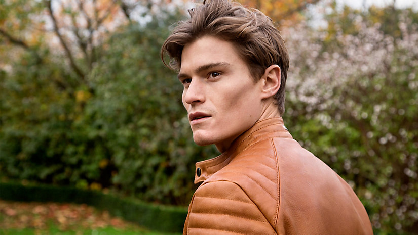 London Calling: Oliver Cheshire Reunites with Hugo Boss