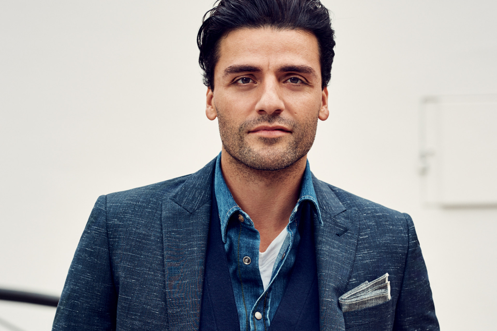Oscar Isaac Covers GQ's January 2016 Issue