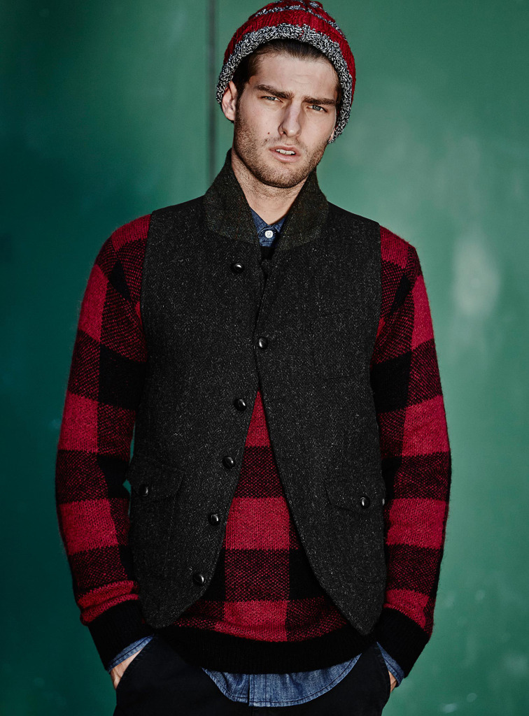 Simons Shows How to Elevate Rugged Winter Style