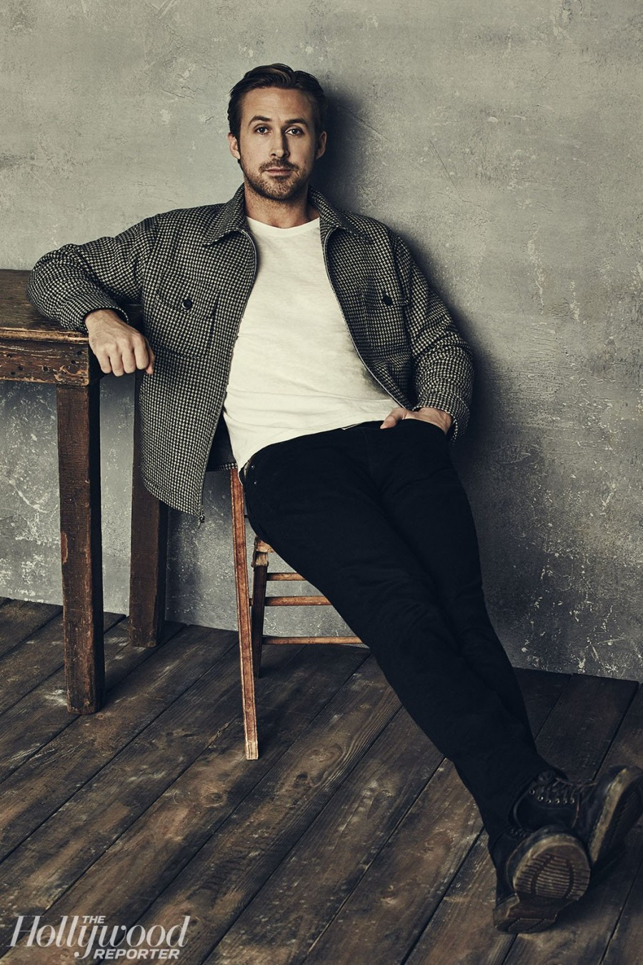 Ryan Gosling for The Hollywood Reporter