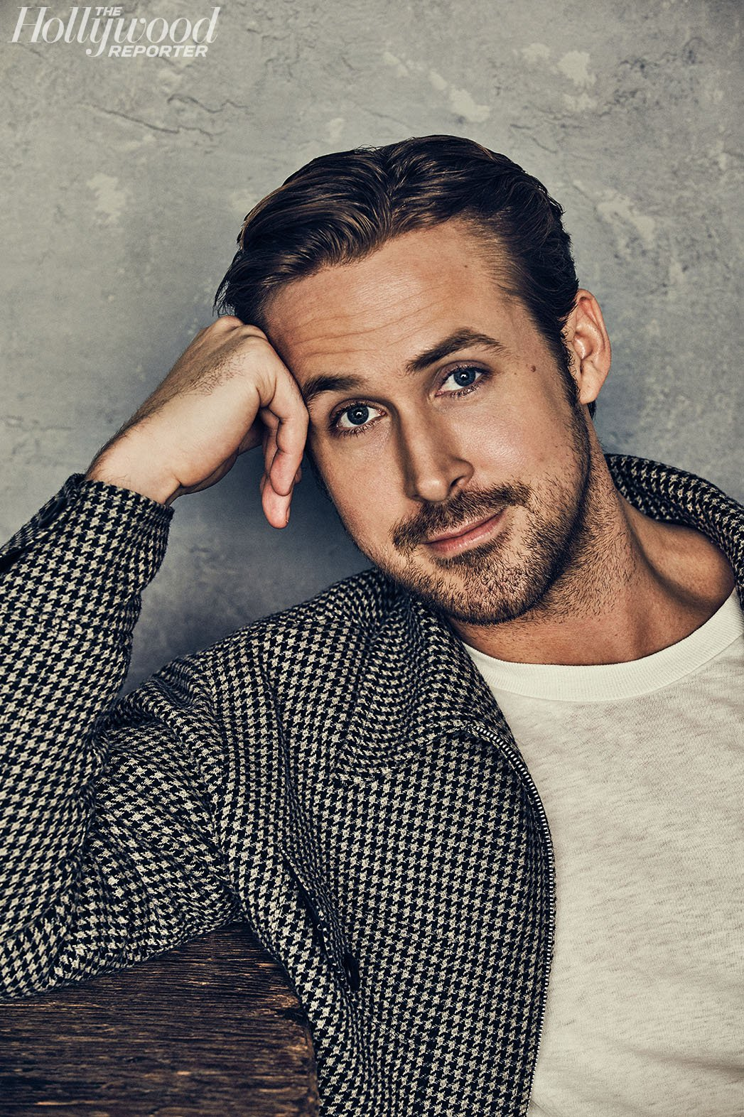Ryan Gosling photographed for The Hollywood Reporter.