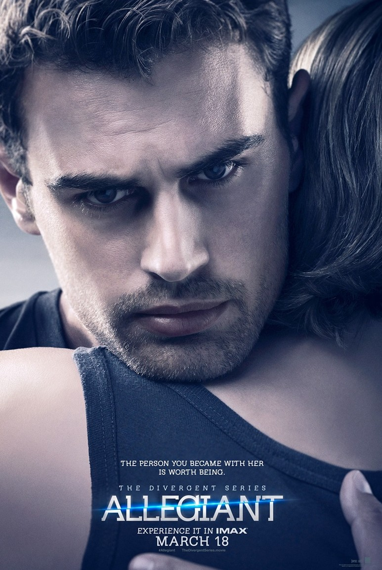 Theo James is Intense for 'Allegiant' Posters