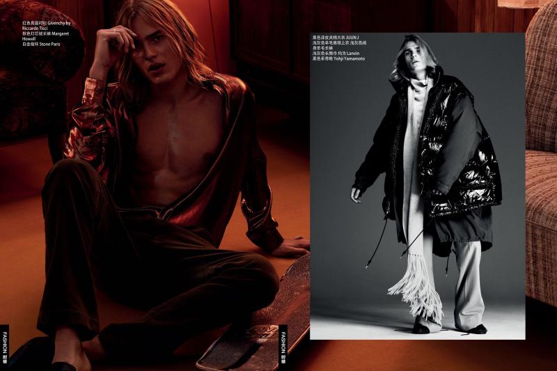 GQ China: Ton Heukels Models Youthful Fashions