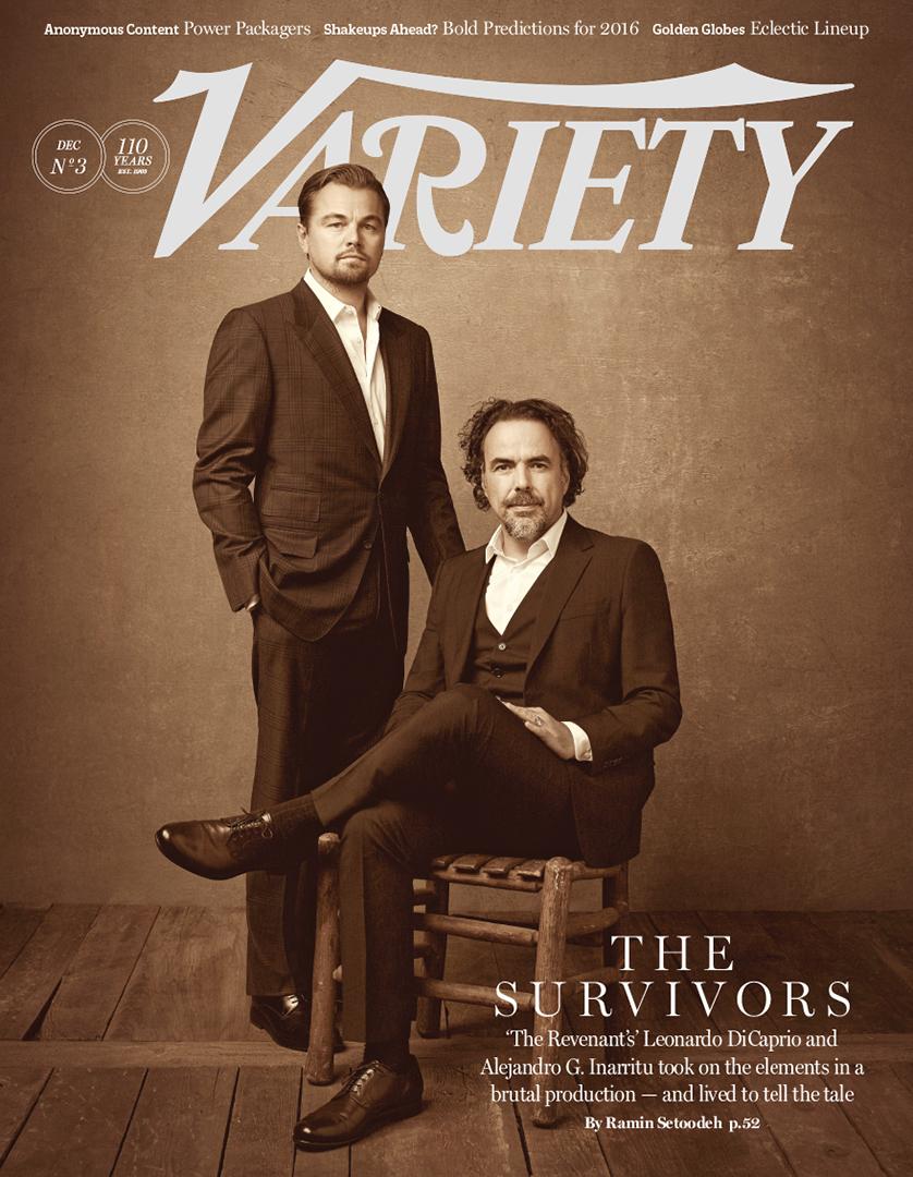 Leonardo DiCaprio Joins 'The Revenant' Director Alejandro González Iñárritu for Variety Cover