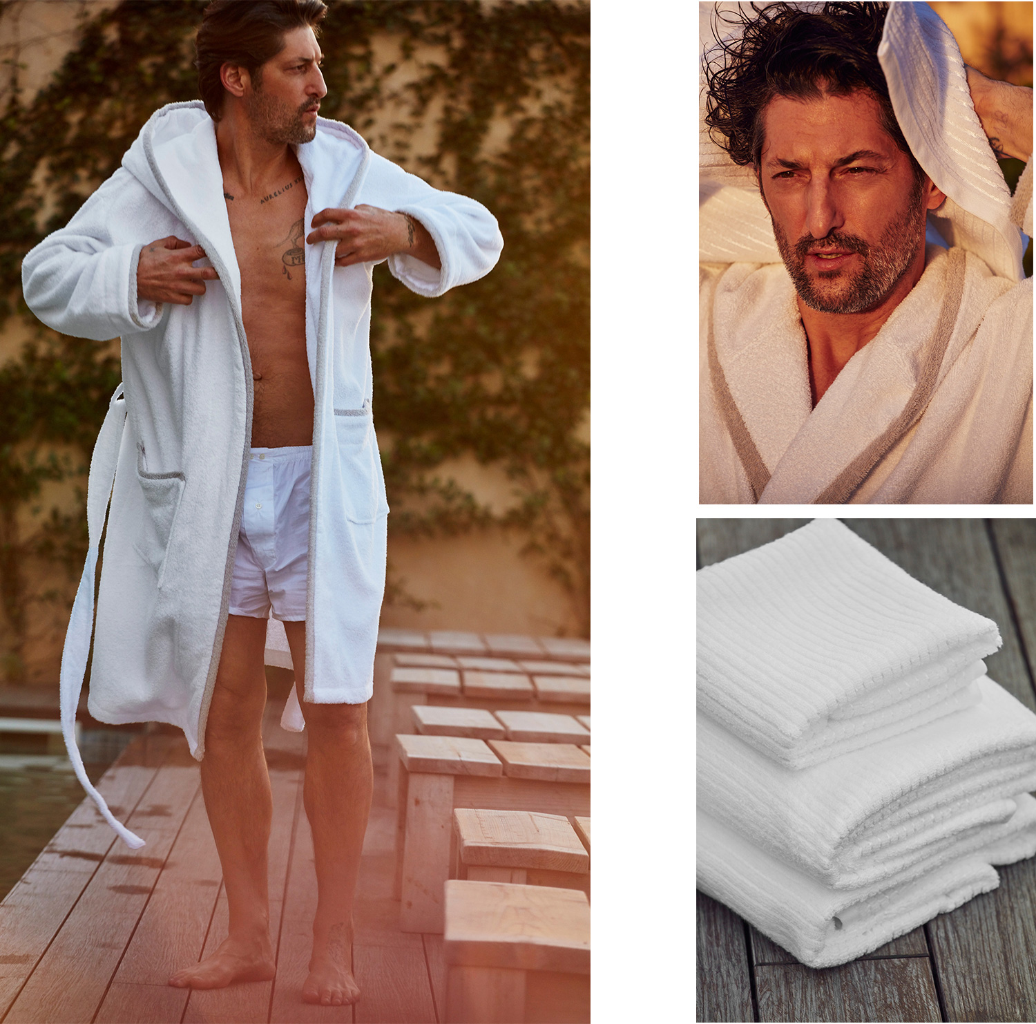 Tony Ward Stars in Zara Home Hotel Collection Outing
