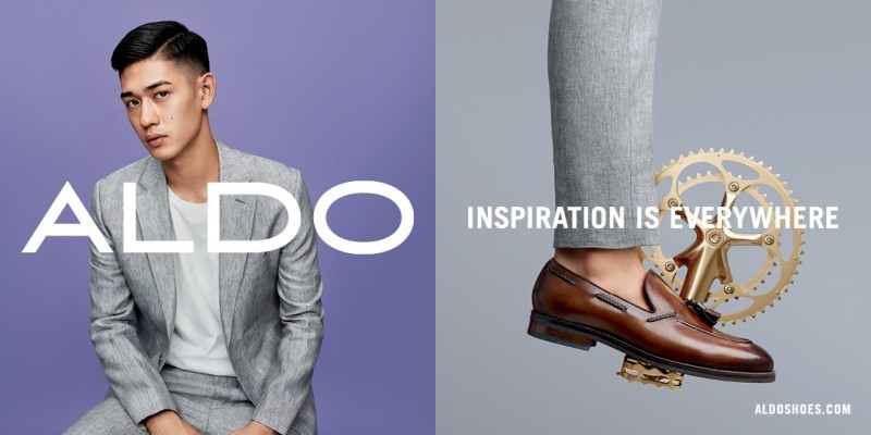 ALDO spring-summer 2016 campaign featuring Keisuke Asano.