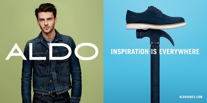 ALDO spring-summer 2016 campaign featuring Silviu Tolu.