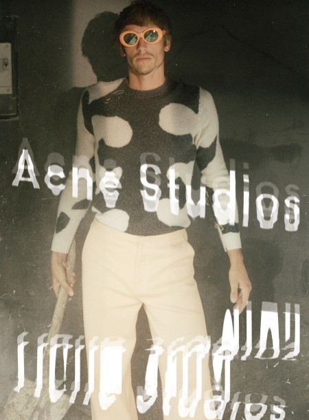 Robin Kegel Fronts Acne Studio's Quirky Spring Campaign