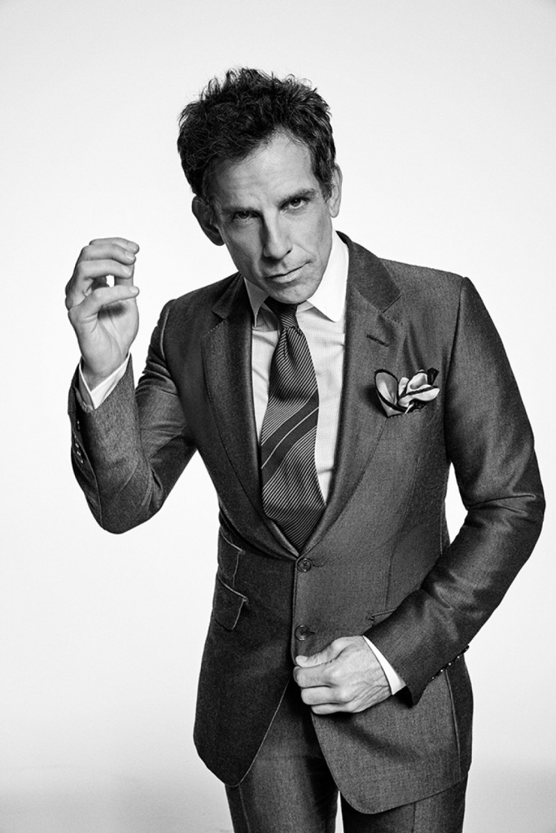 Ben Stiller photographed by Francesco Carrozzini for L'Uomo Vogue.