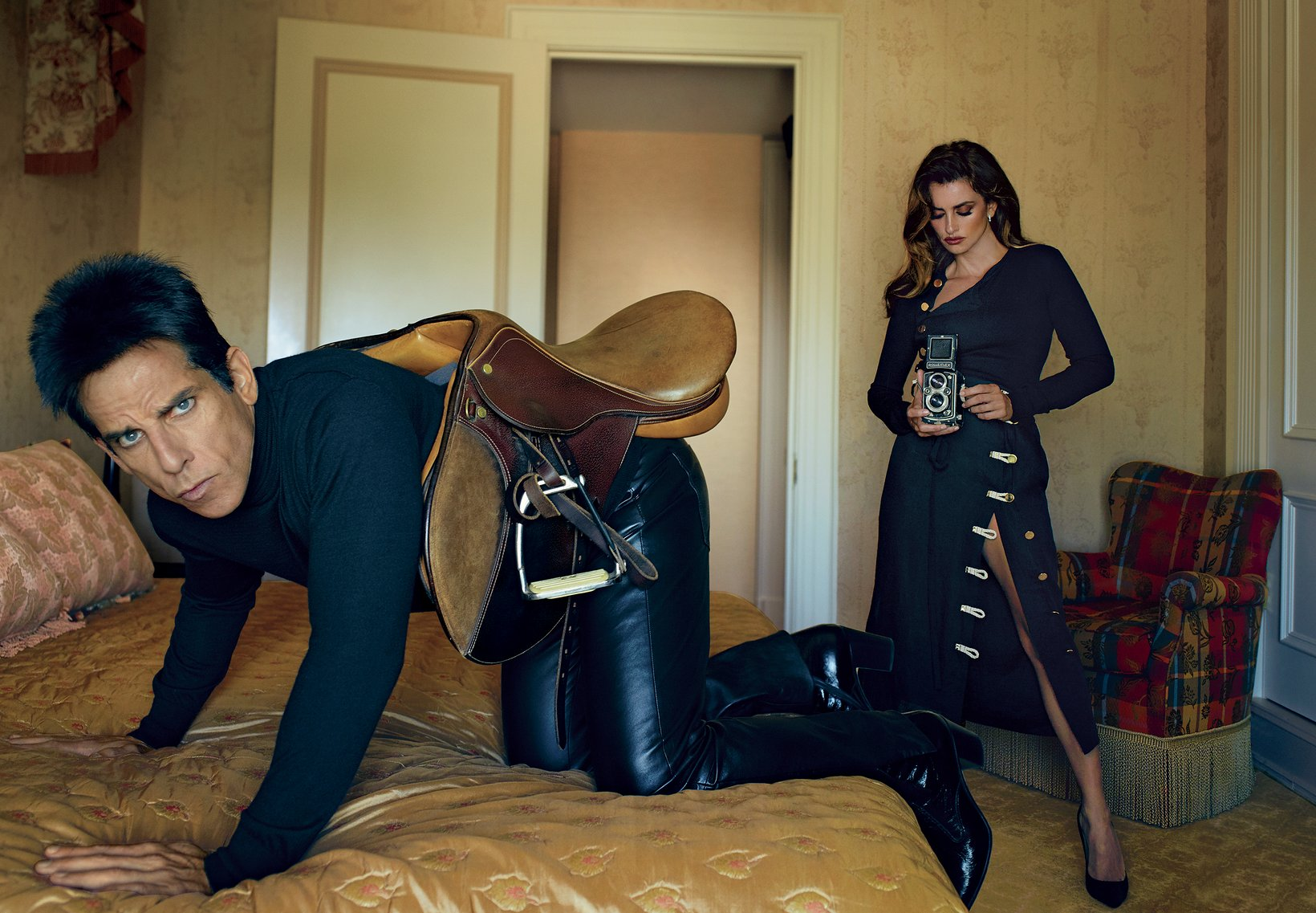 Ben Stiller's Derek Zoolander is in Vogue