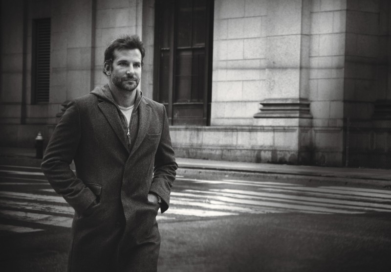 Bradley Cooper photographed by Peter Lindbergh for W magazine.