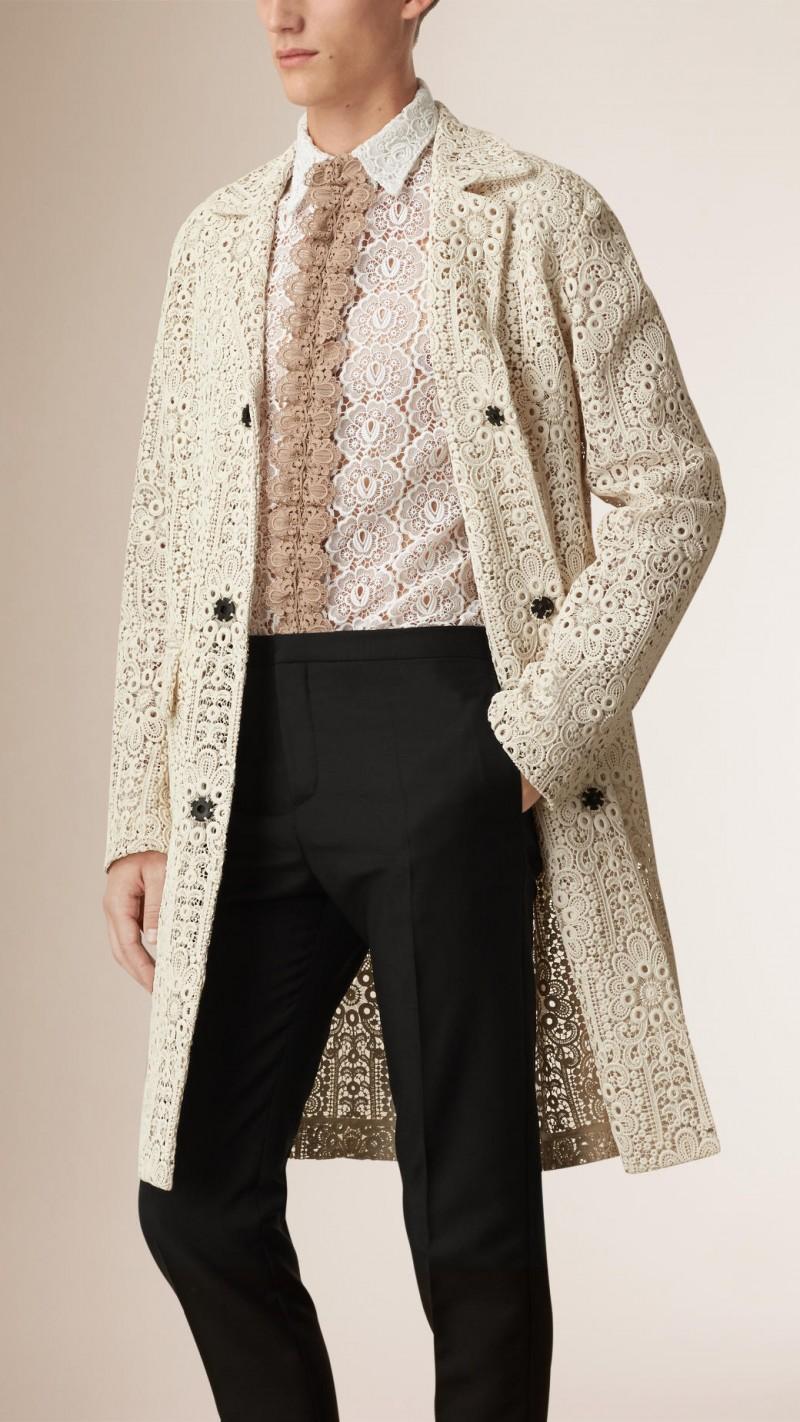Burberry Italian Lace Coat