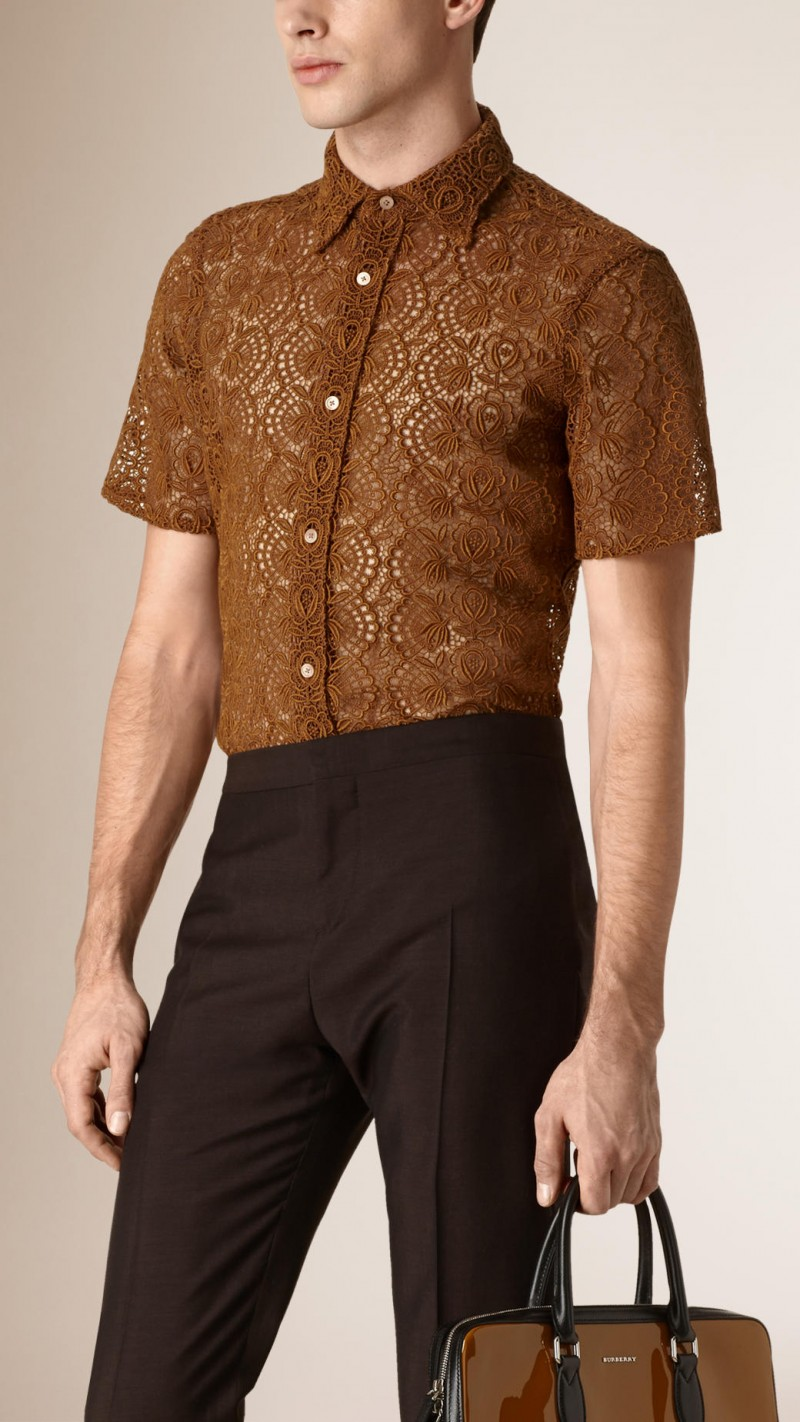 Burberry Swiss Lace Shirt