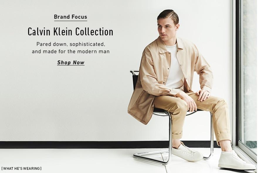 Calvin Klein Collection's Italo Zucchelli Talks Menswear with East Dane