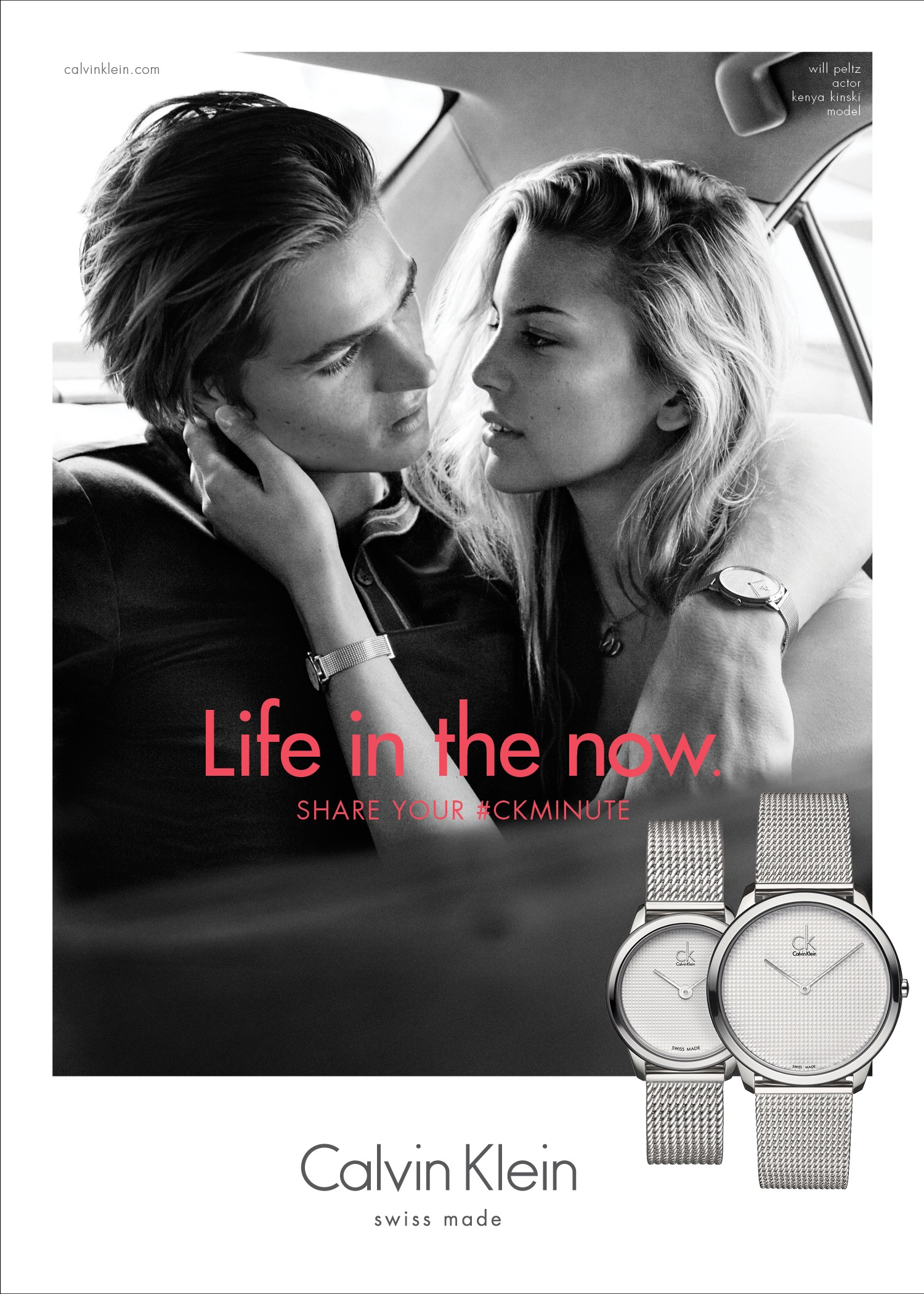 Calvin Klein Watches Takes a #CKMinute for 2016 Campaign