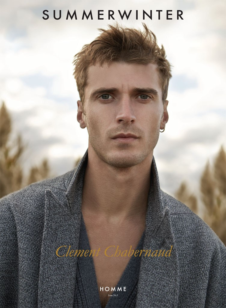 Clément Chabernaud covers the debut issue of SummerWinter magazine.