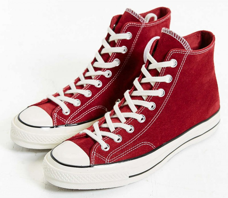 Converse All-Star Chuck Taylor 70s High-Top Sneakers in Red