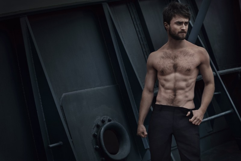 Daniel Radcliffe photographed by Charlie Gray for Vanity Fair Italia.