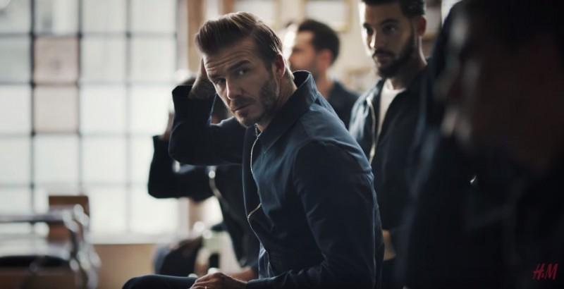David Beckham 16 H M Modern Essentials Video The Fashionisto