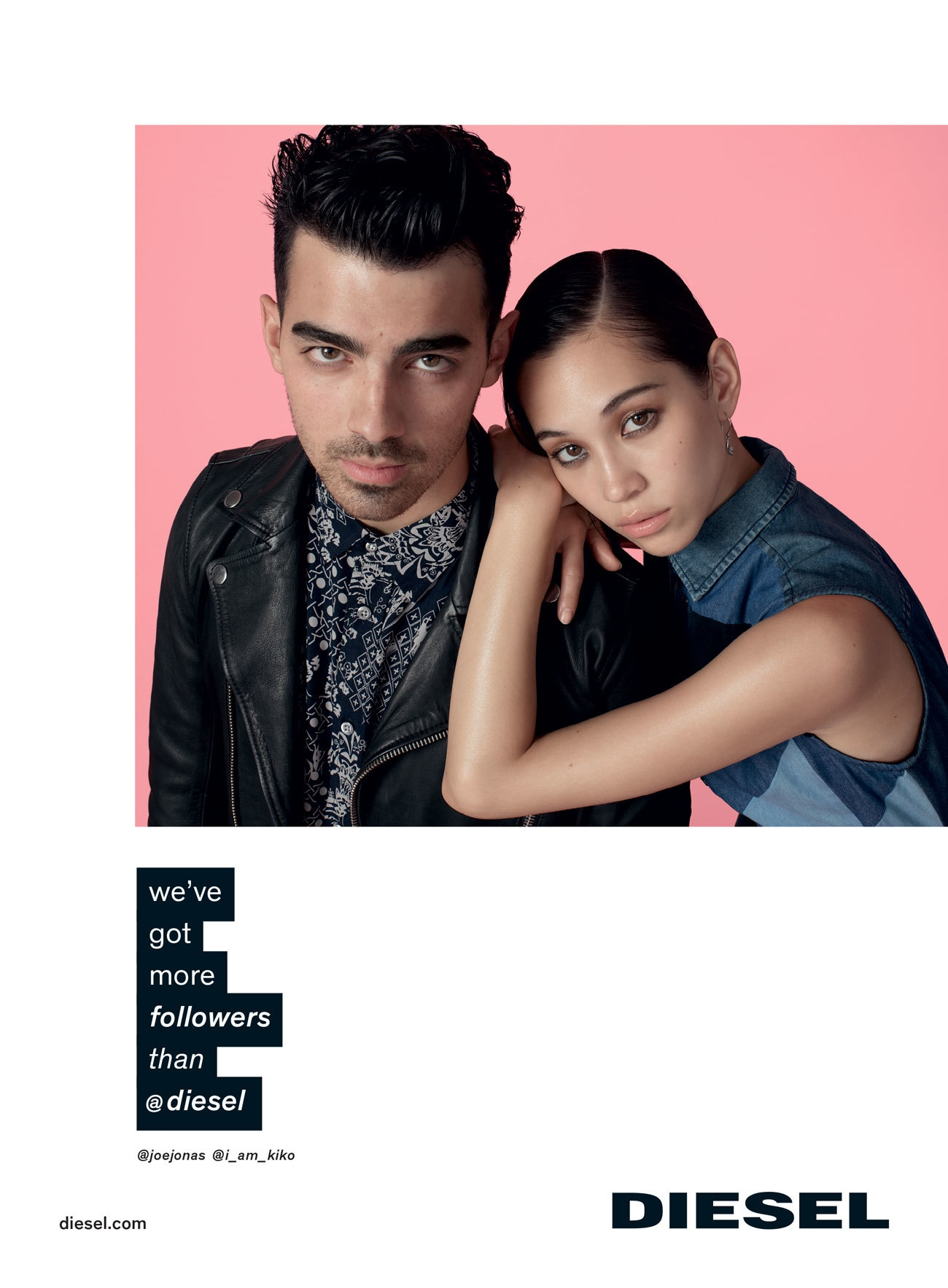 Joe Jonas Leads Cast for Diesel's Spring Ads