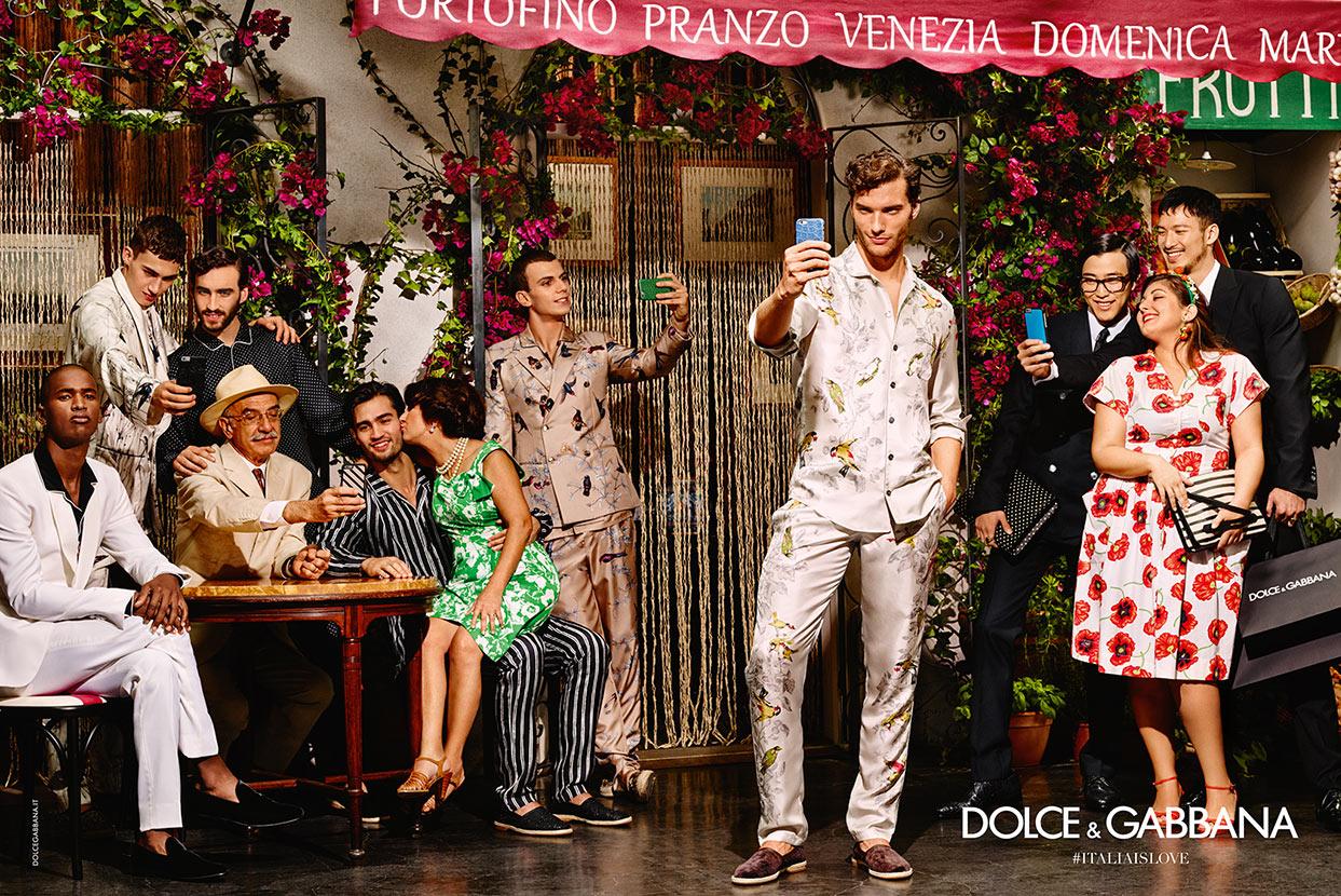 f5489b58ef Italia is Love  Dolce   Gabbana Unveils Spring Campaign