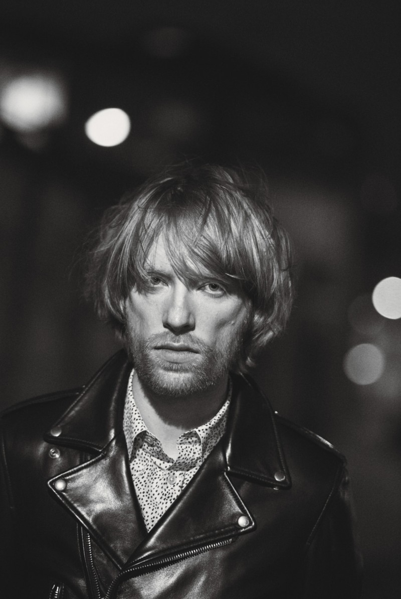 Domhnall Gleeson photographed by Peter Lindbergh for W magazine.
