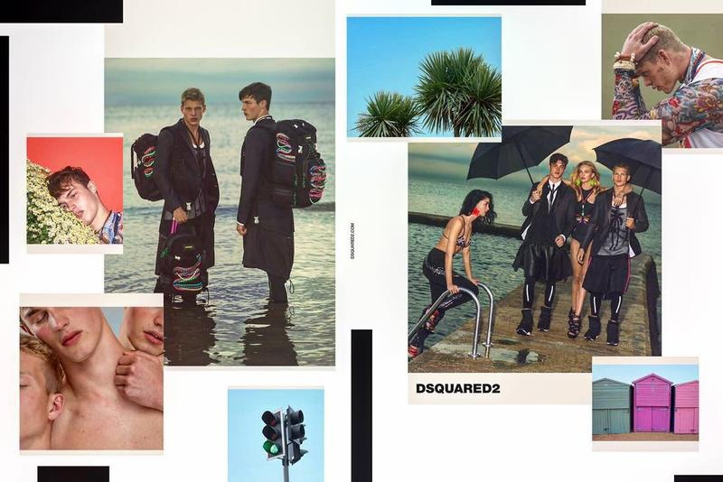 DSquared2 Goes the Way of Snapshots for Spring Ads