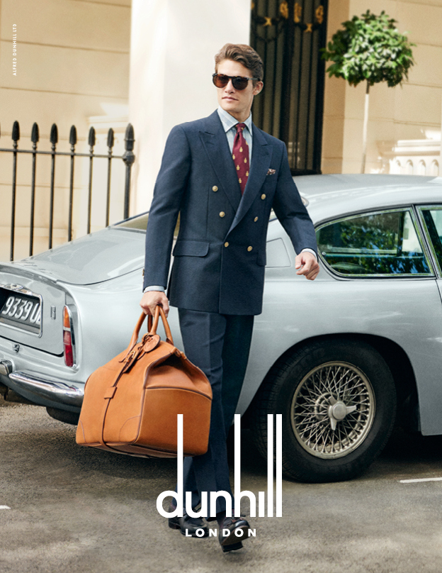 Dunhill Delivers Classic Sartorial Edge for Spring