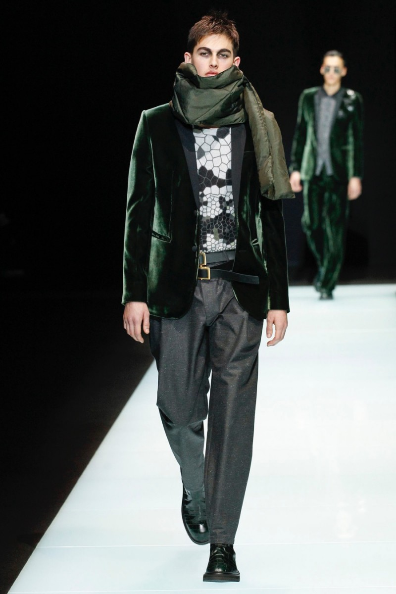 Emporio Armani 2016 Fall Winter Men S Collection The