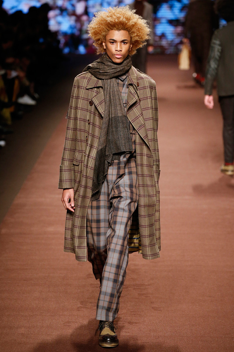 Etro Embraces Raw Hems for Fall Collection