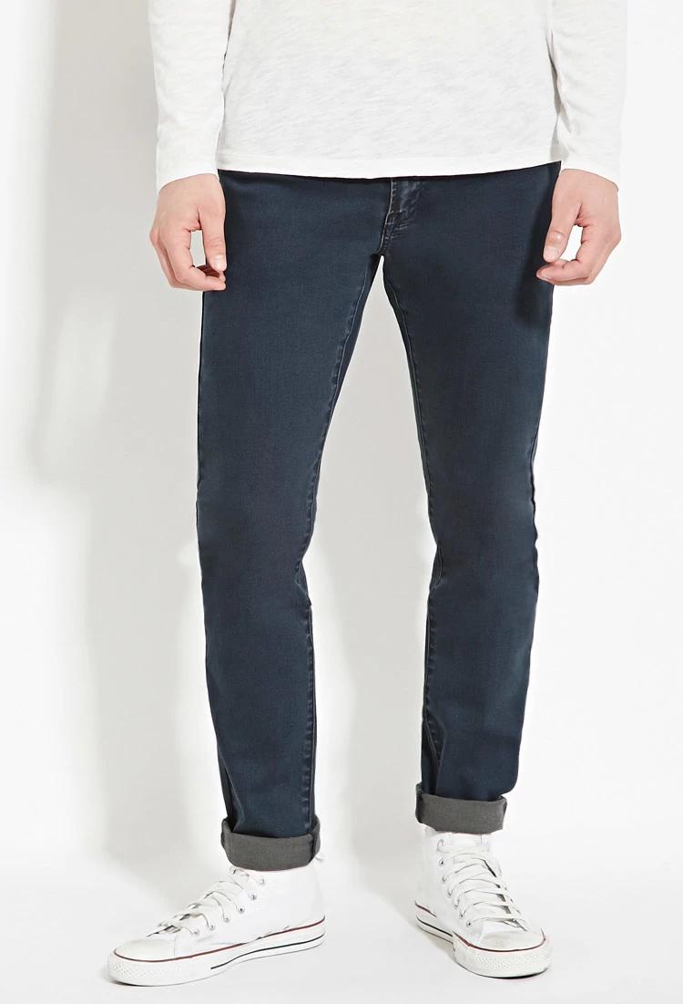 Forever 21 Slim-Fit Denim Jeans