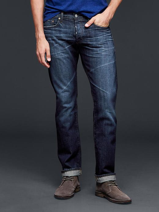 Mens Grey Slim Jeans