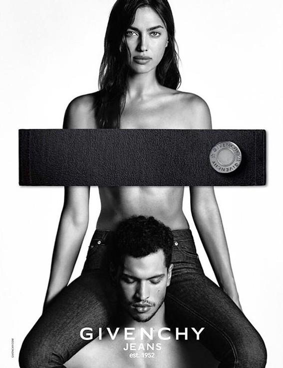 Givenchy Jeans Exudes Sex for Spring Ad
