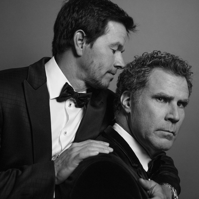 Mark Wahlberg and Will Ferrell photographed by Inez & Vinoodh.